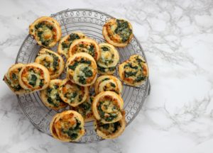Spinach in Puff Pastry- The Ingredients