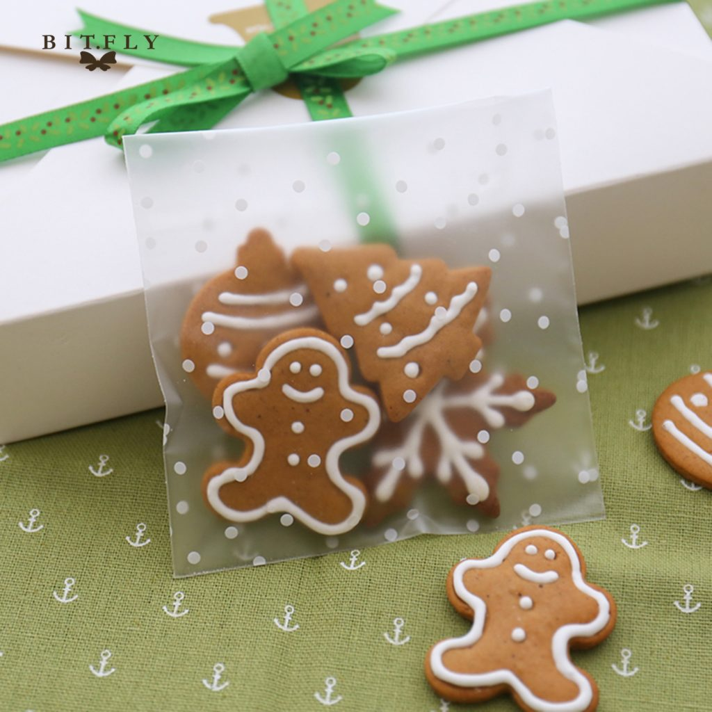 Self Adhesive Transparent Cookies/Candy Bags